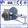Round Spiral ventilation tube Former and air duct forming machine from factory