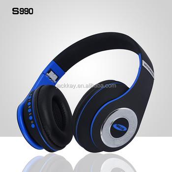 6dae537757a Lowest price headphone earbud bluetooth S990 wireless headphones