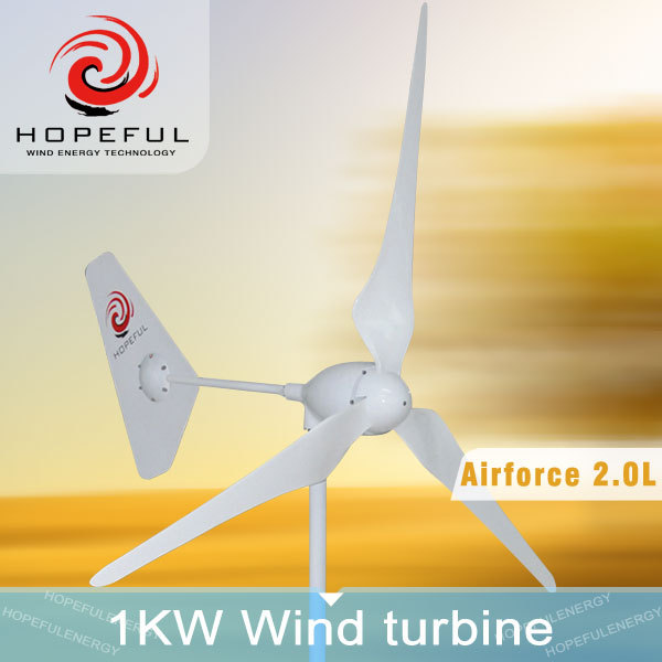 1kw green and sustainable energy new design wind turbine
