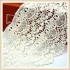 100%cotton off white cotton lace chemical lace guipure lace for maxi dress/ long top/skirt perfect quality