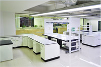 Manufactory competitive Price creative design customized physical chemical biological lab furniture workbench