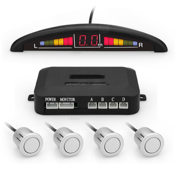 Led Reverse Car Parking Aftermarket Backup Sensor With 4 Rear Bumper  Sensors - Buy Aftermarket Backup Sensors,Reverse Car Parking Sensor,Rear  Bumper