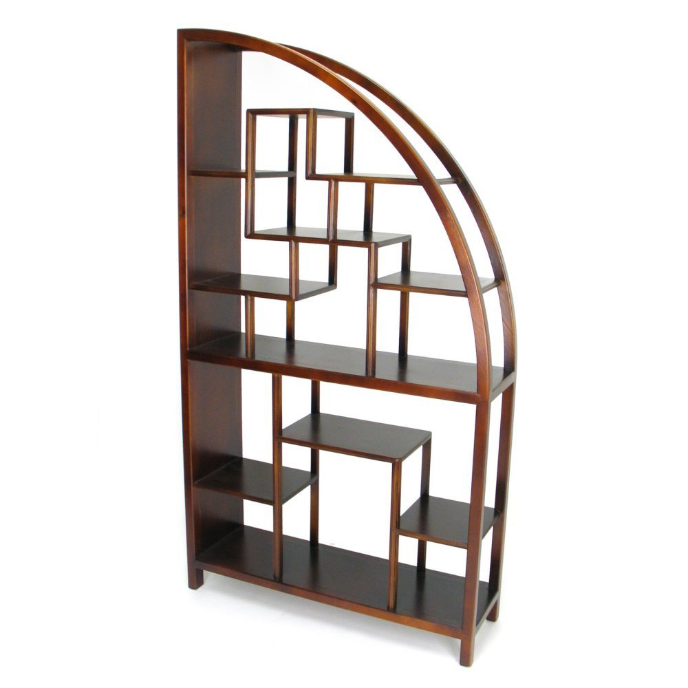 Wooden Display Unit Half Arch