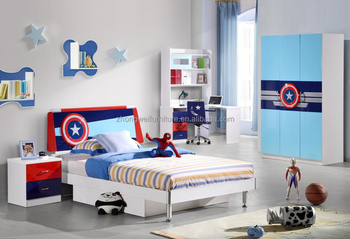 Superb Captain America Teens Bedroom Furniture Sets