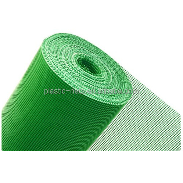 Green Plastic Mesh 5mm x 5mm Fencing Garden Animals Fence Flowerbeds Border Net