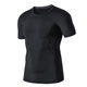 Professional black custom gum blank apparel dry fit sport t shirt for men
