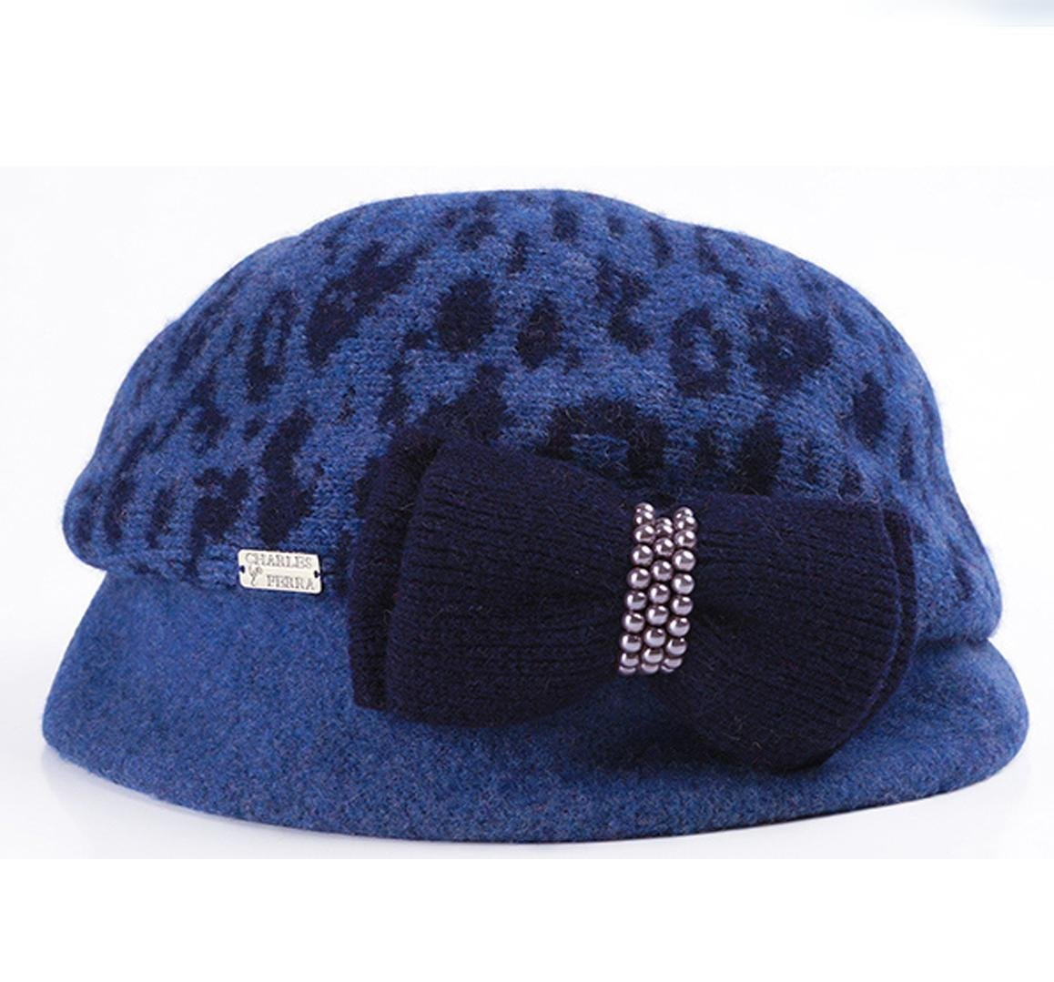 Get Quotations · CXYY New for fall winter classic Leopard print fashion autumn  ladies Hat wool hat 3aa1fbe44ebb