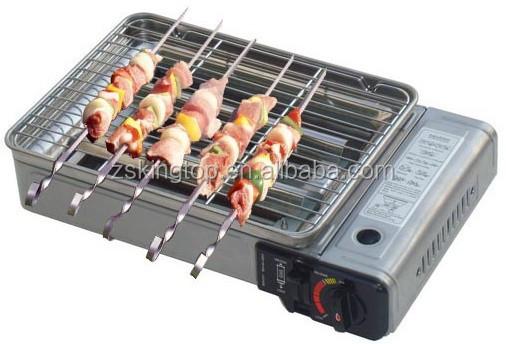 mini barbecue camping portable cuisini re gaz plaque de. Black Bedroom Furniture Sets. Home Design Ideas