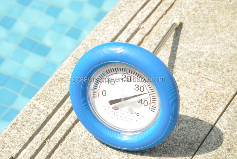 Wireless pool thermometer floating pool thermometer pool for Poolthermometer obi
