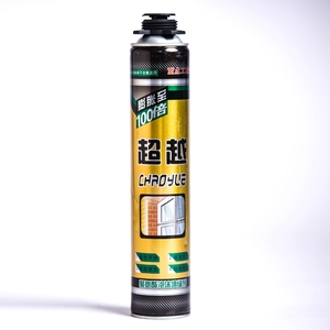 food grade polypropylene spray foam insulation expandable caulk fire rated pu foam