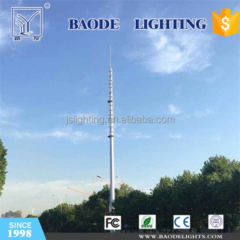 Stable GSM Antenna Steel Tower for China Mobile Communication