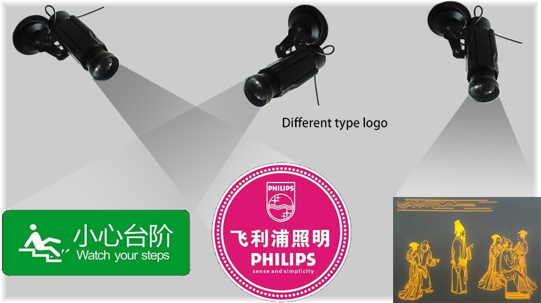 Ms logo Frankever 30w Outdoor Gobo Projector Light