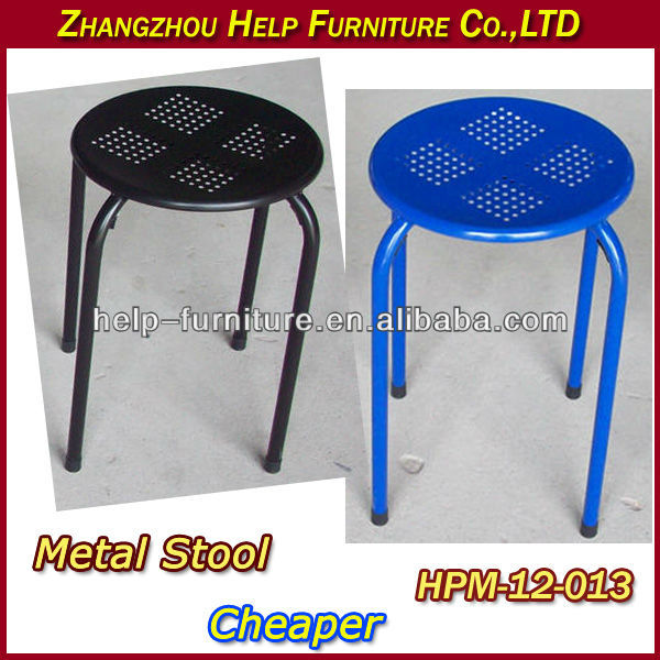 Round Stack Metal Stool