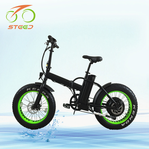20 inch easy ride folding e-bicycle 1000w brushless hub motor with EN15194 from china