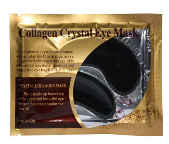 Collageen Crystal Eye Mask Bamboe Houtskool Zwart Oogmasker