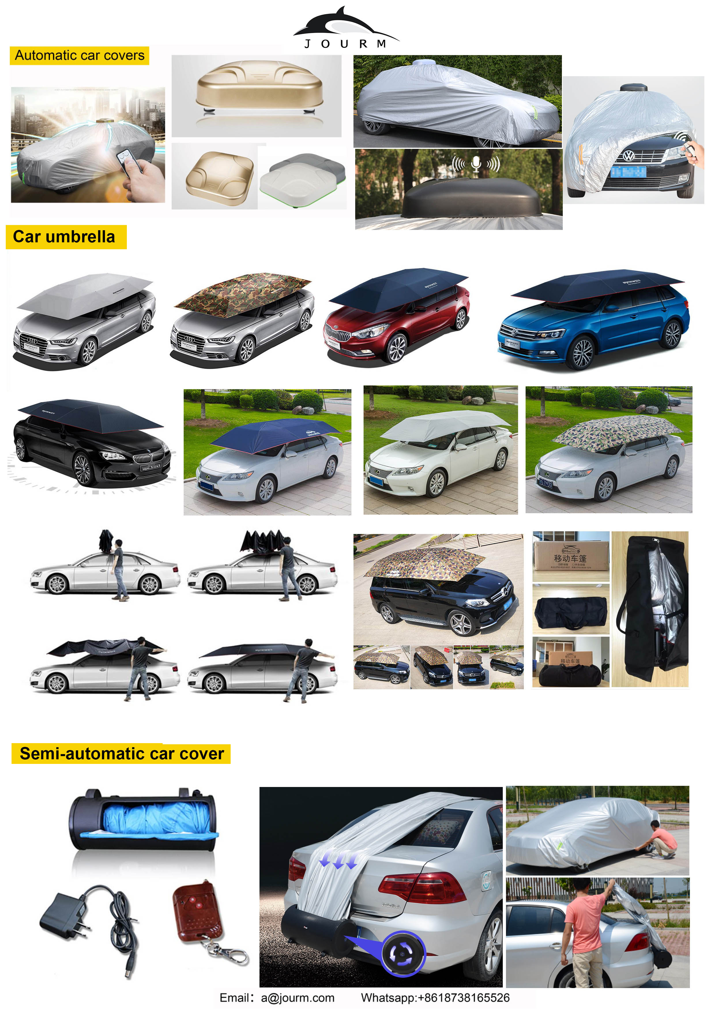 Thicken inflatable auto car cover snowproof retractable thick anti hail waterproof automatic electrical sun shade umbrella cover