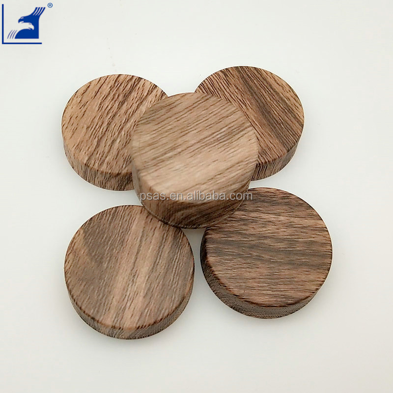 wood grain cover bottle cap, PP plastic cap