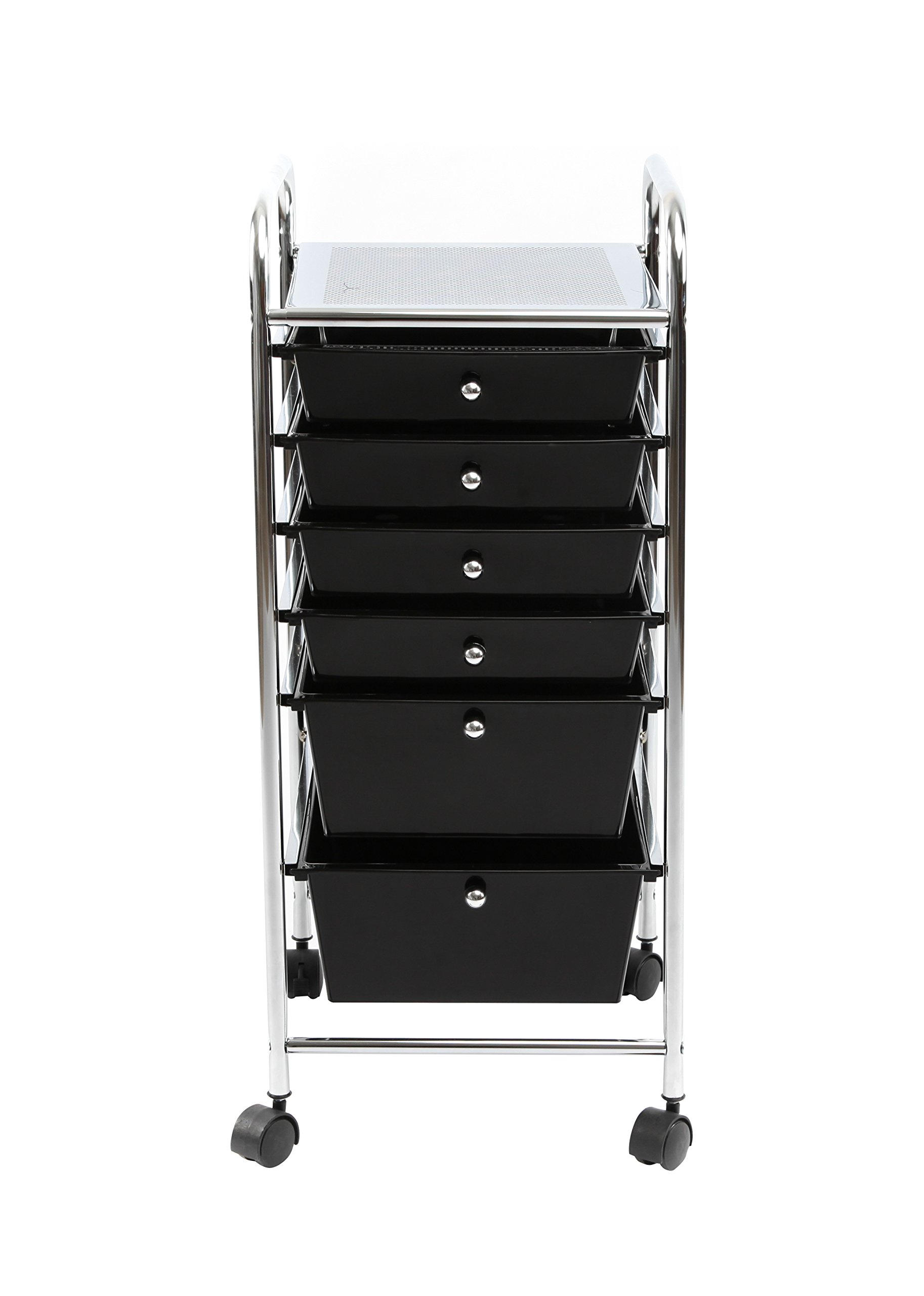 Get Quotations · Finnhomy 6Drawer Rolling Cart Organizer,Storage Cart With  Drawers, Utility Cart For School,