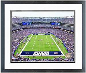 "New York Giants Meadowlands Stadium NFL Photo (Size: 18"" x 22"") Framed"