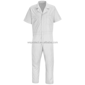 Painters Summer Working Overalls With Free Movement Back Pleats