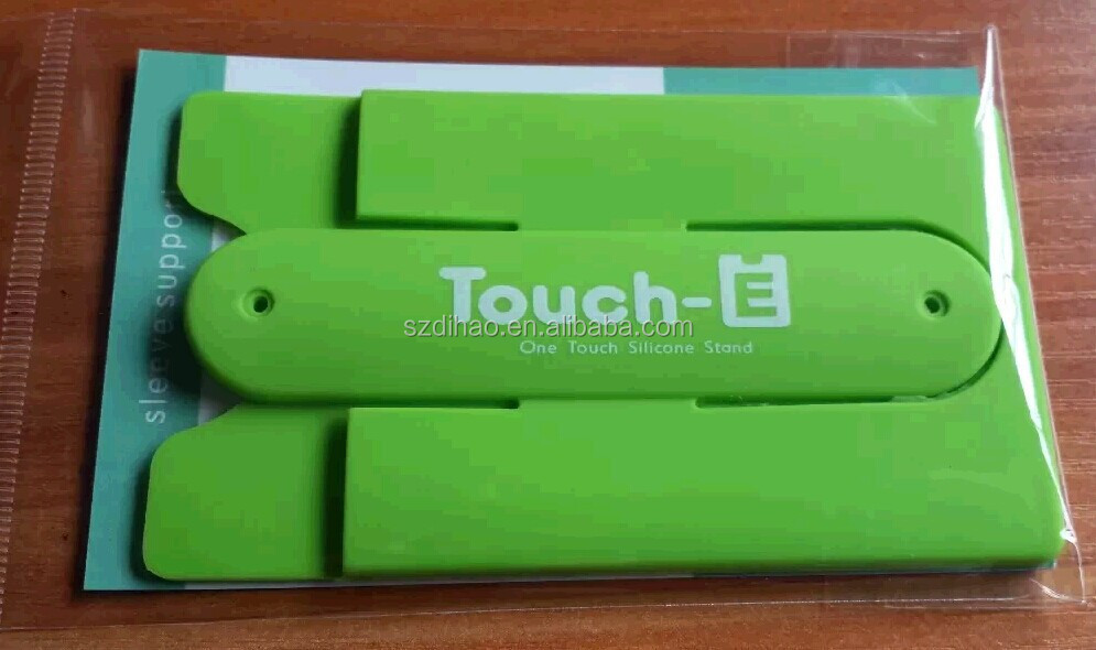 Dihao Tech Touch-c Silicone Mobile Phone Card Holder / Silicon ...