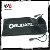 Multifunctional sublimation headphone microfiber bag, microfiber soft fabric earphone pouch, reading glasses with pouch