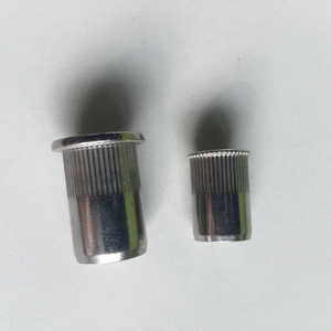 Flat head 304 stainless steel m8 rivet nut