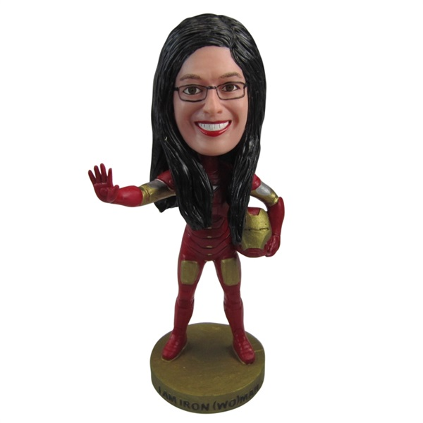 Film acteur polyresin bobble head