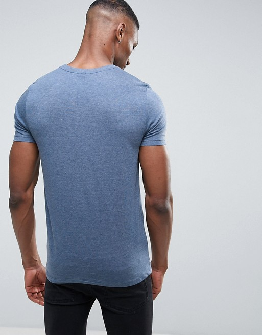 1e6f7c4ca mens clothing 2018 95 cotton 5 spandex fitted plain t-shirt gym t shirts  wholesale
