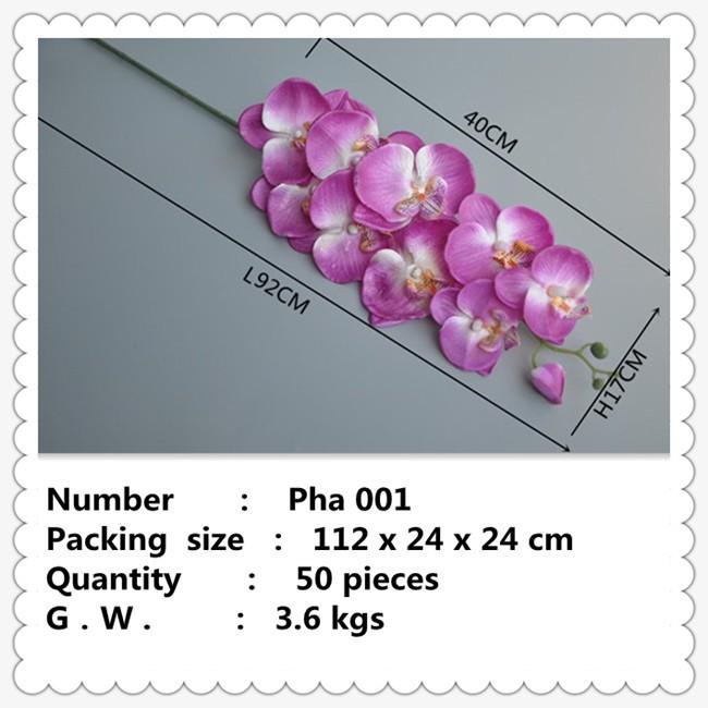 Kunstbloem hot roze vlinder orchidee voor tafel centerpieces buy product on - Tafel roze kind ...