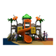 Treehouse style playground/recycled playground equipment/outdoor kids playground equipment slide
