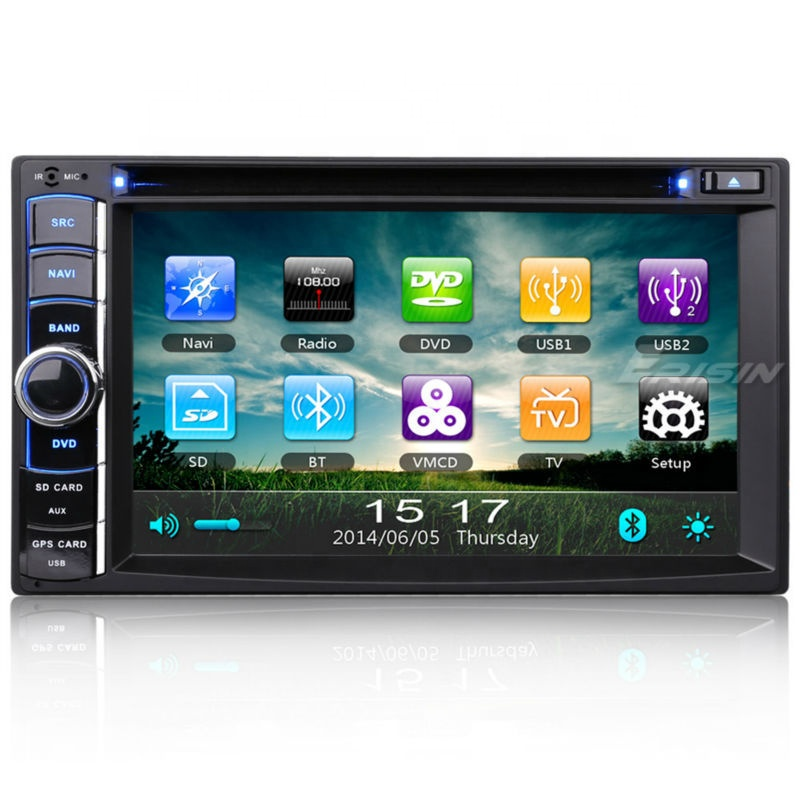 Erisin ES890G Universal Mobil Dvd Player SAT NAV TV Tuner