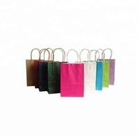 Any color printing eco friendly kraft paper bag for gift/clothes/cosmetic packaging
