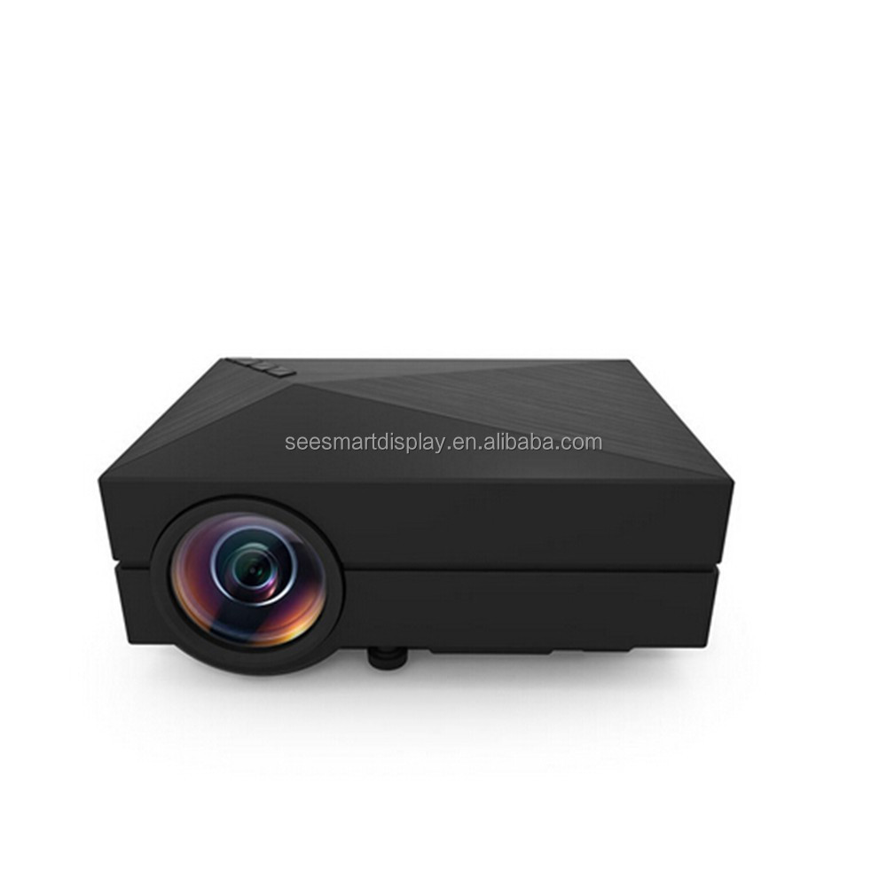 Multimedia GM60 Home Theater 1080P LED Mini Projector AV USB VGA SD HDMI