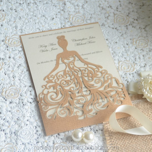 China Supplier Modern Design 3d Printing Wedding Invitation Card Handmade Of Buddhist