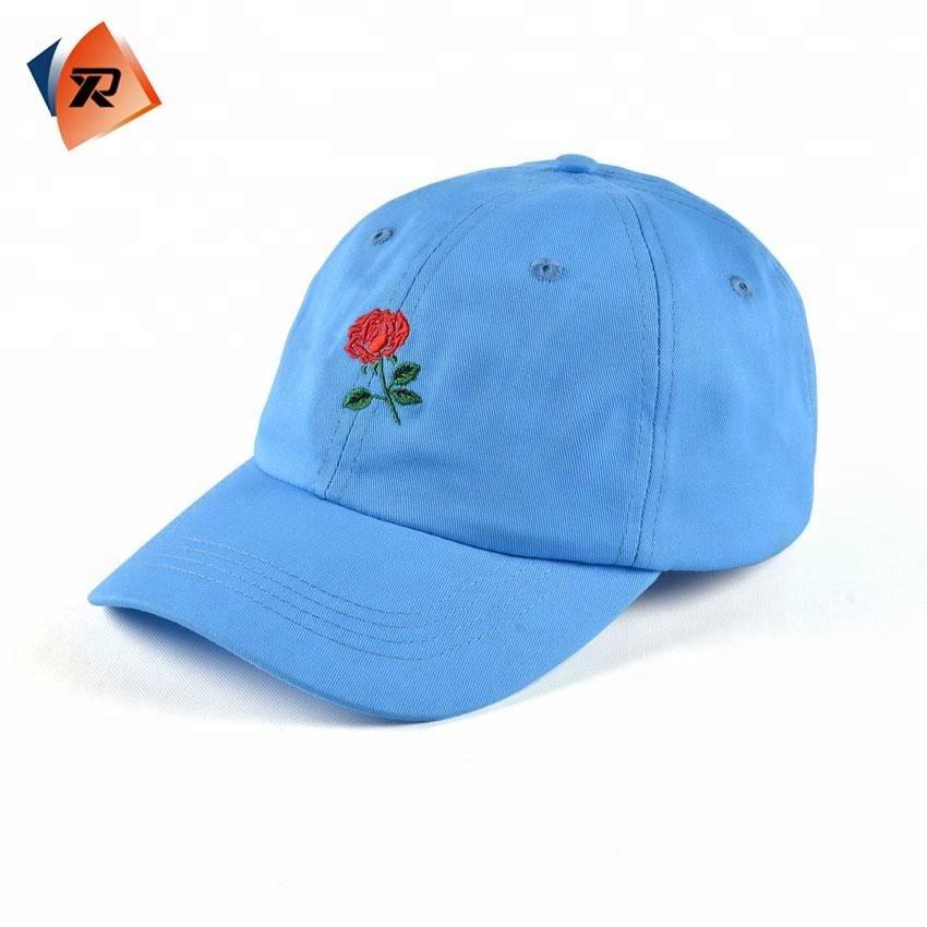 Blank Flower Gym Dad Hat 6 Panel Cool Sport Cap - Buy 6 Panels ... 8c99277ec26