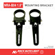 LED Light Bar Spot Light Tube Clamp Bracket Pair Suits 1.5 inch Bull Bar Nudge Bar
