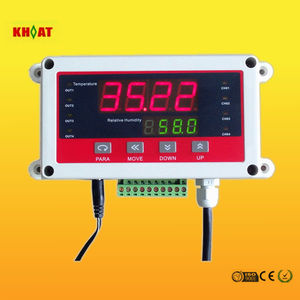 KH706D Wireless Temperature and Humidity Sensor with Indicator