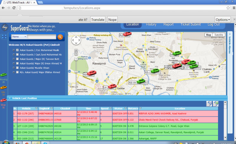Gps Vehicle Tracking Server Software With Multiple Protocol ...
