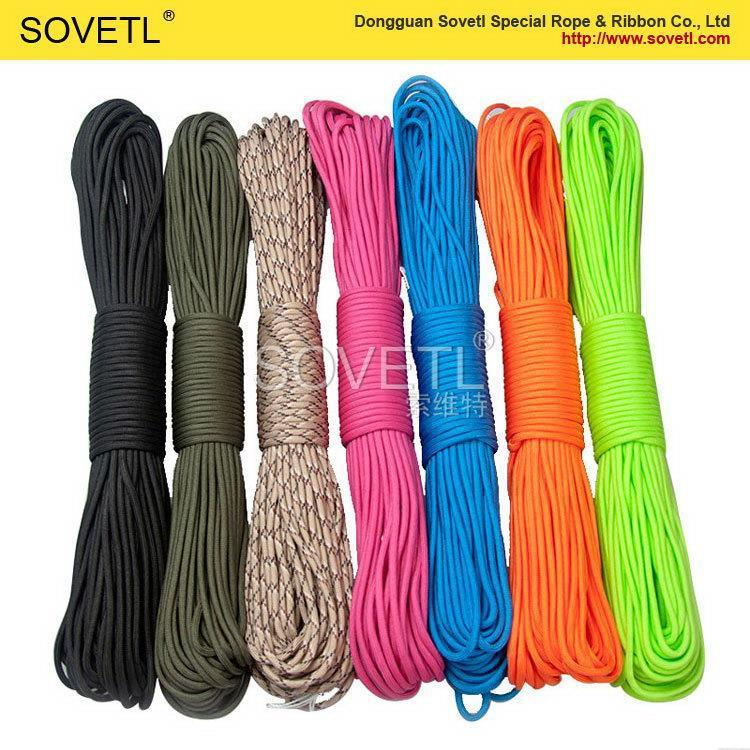 Promotional hot sale new design 8 strands solid nylon rope