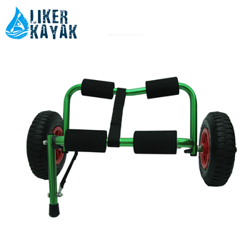 Sea Kayak Cart Trolley Rack Mini Foldable Trolley with wheel