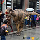 Interesting life size realistic dinosaur costume for kids