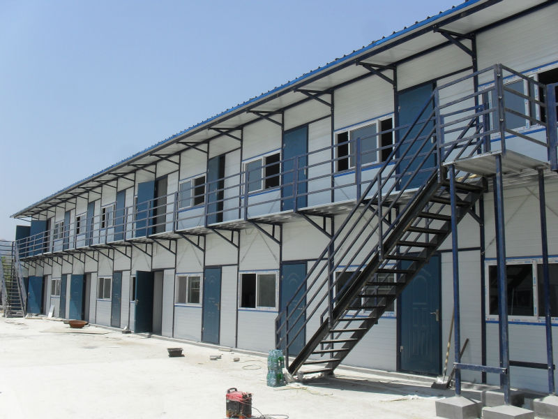 light steel structure for site office /site dormitory/ site canteen prefabricated house