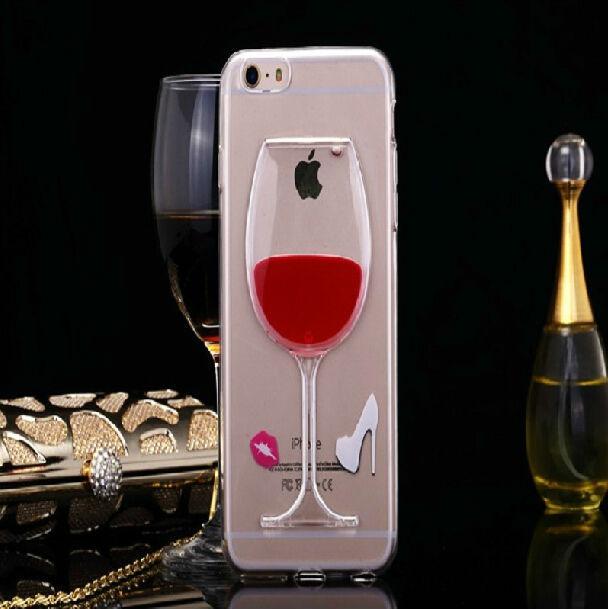 For Apple iPhone 6/5s Case 3D liquid