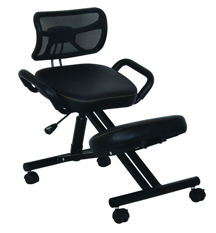 Ergonomisches Design Kniestuhl/Leder Stoff Stuhl Für