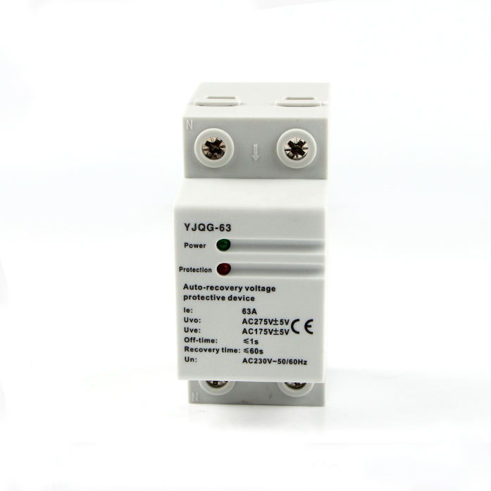 Elsine Yjqg-63 220v Ac Auto-recovery Under Voltage Protection Device - Buy  Auto-recovery Voltage Protection Device,Protection Device,Under Voltage