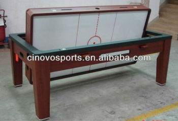 Multi Game Table Spin Around Pool Table/Air Hockey Table/dinning Table/table