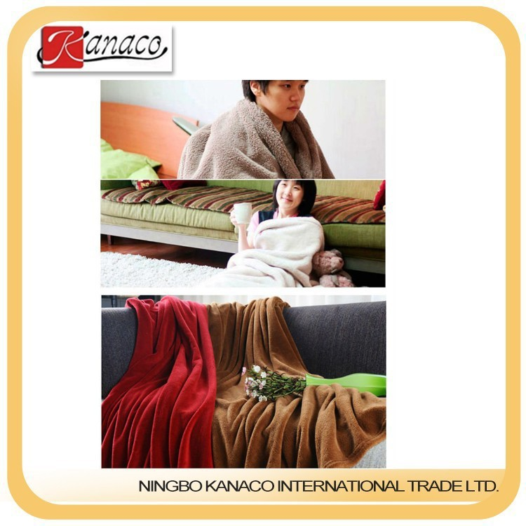 Hot-Selling High Quality Low Price Knitted Blanket