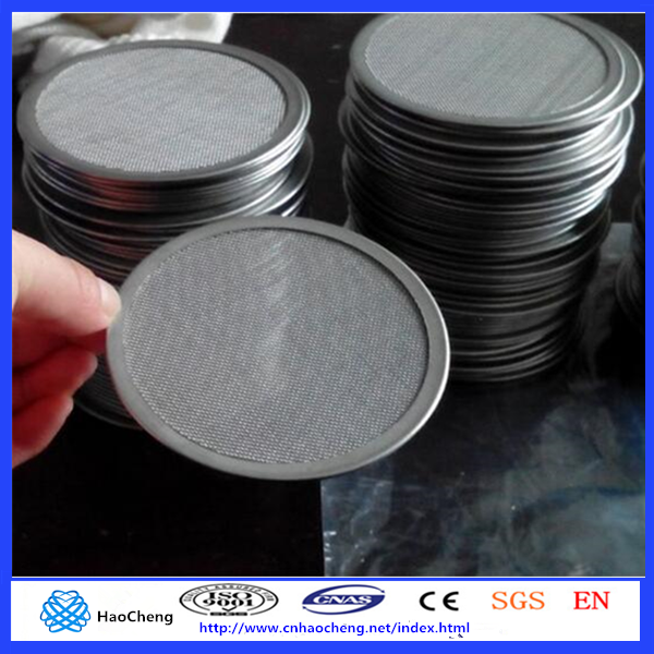 customized Multi-layers metal sintered filter disc