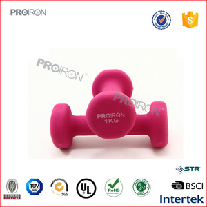 Manufacture Wholesale 1kg neoprene dumbbell gym weights